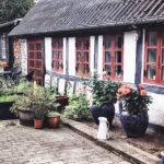 Det gamle bindingsværkhus hos Grundfør Bed & Breakfast